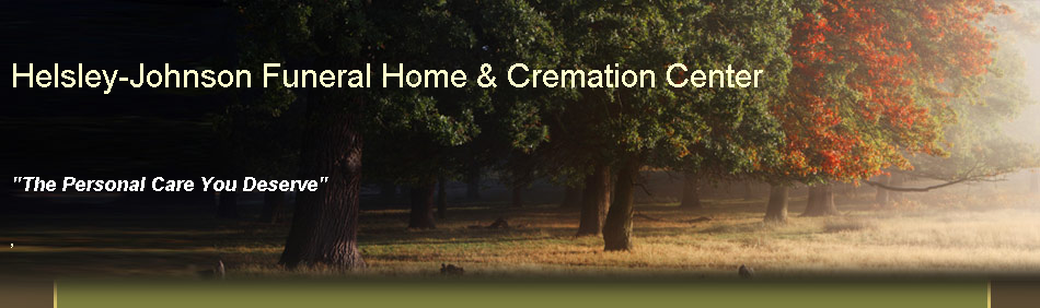 Helsley-Johnson Funeral Home & Cremation Center
